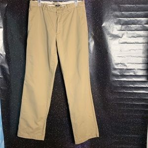 "J Crew-""Broken In"" Rg Fit Khaki Pants size 33w34L"